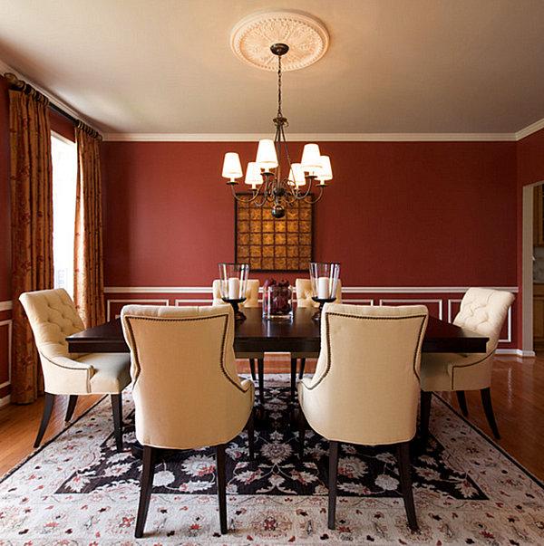 Chocolate dining room