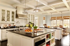 Clemson Classic Pendant lights for a classic kitchen design
