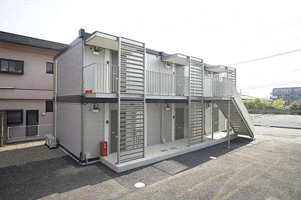 Unforgettable modular homes with contemporary style for Apartment building design ideas