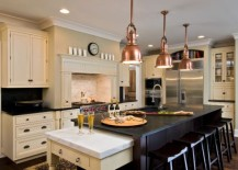 Beautiful Hanging Pendant Lights For Your Kitchen Island - Lighting above a kitchen island