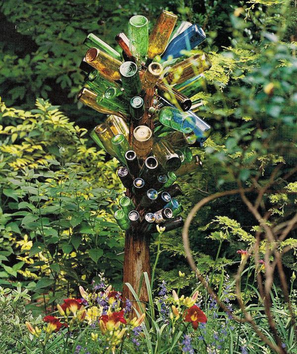 DIY Eclectic art addition to the garden you can craft with relative ease