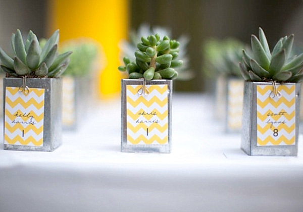 DIY Wedding Favors for Design Lovers