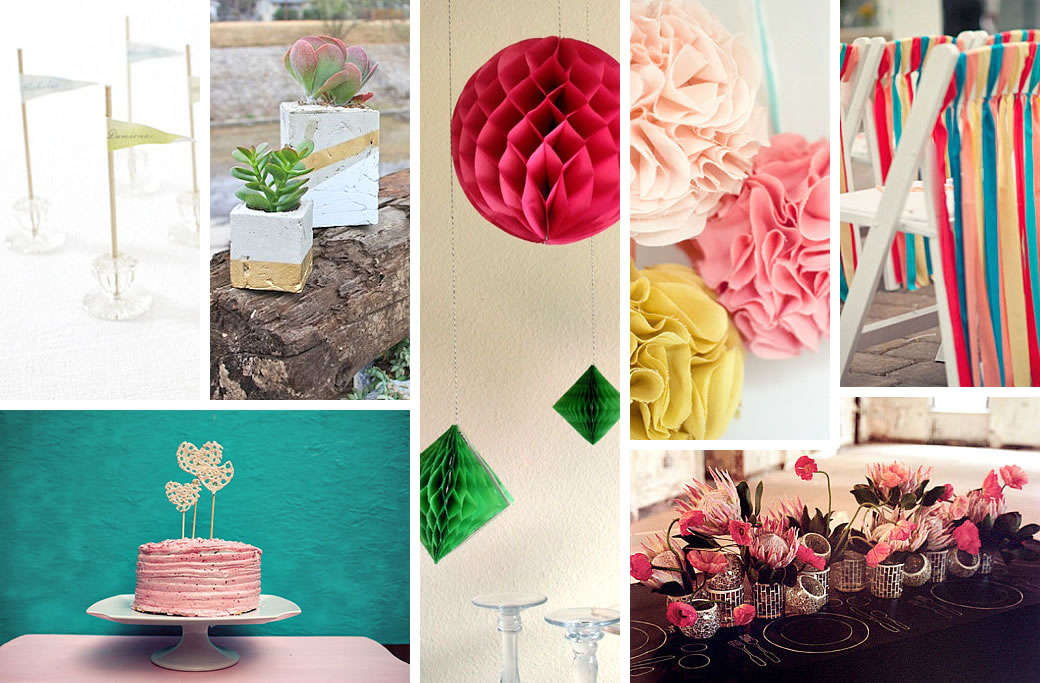 Diy wedding decorations for spring for Wedding day room decoration