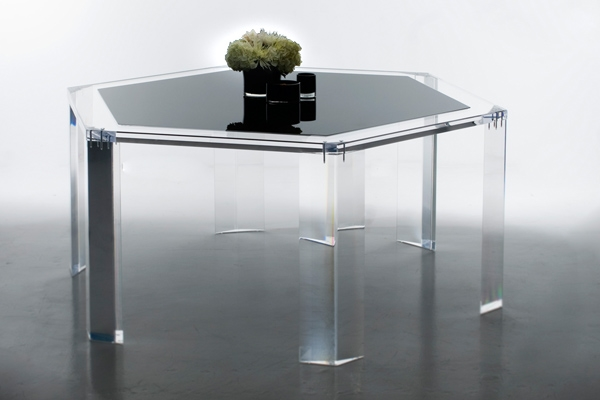 Acrylic dining room tables