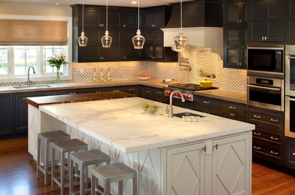 Beautiful Hanging Pendant Lights For Your Kitchen Island - Hanging lights over kitchen counter