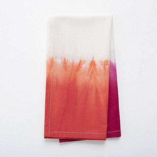 Dip dye napkin set