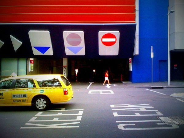 Eureka Car Park in Melbourne