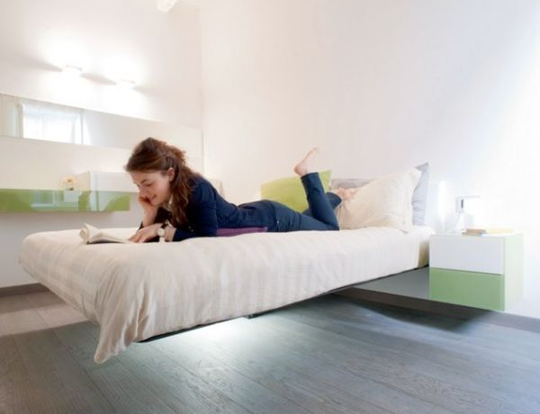 View in gallery Extreme and exclusive floating bed with jaw dropping design & 30 Stylish Floating Bed Design Ideas for the Contemporary Home