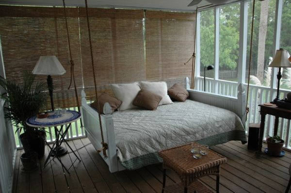 great attic ideas - 29 Hanging Bed Design Ideas to Swing in the Good Times