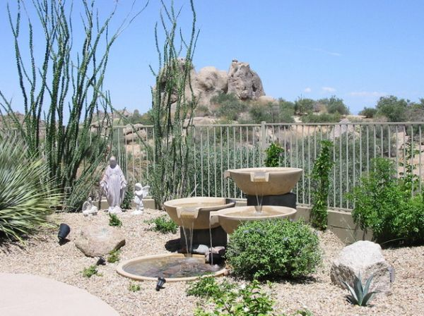 Garden art perfect for a desert environment
