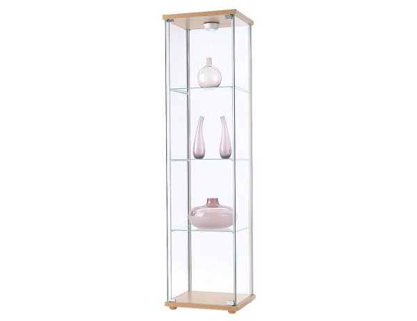 Glass cabinets for a chic display - Ikea glass cabinets ...