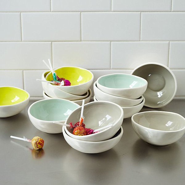 Glazed prep bowls