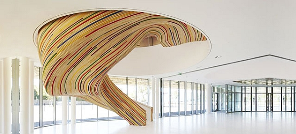 Gorgeous creative staircase design idea