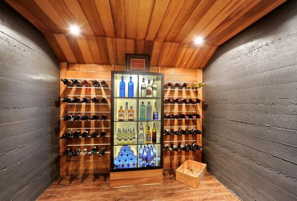 Gorgeous glass door refrigeration system perfect for the modern wine cellar