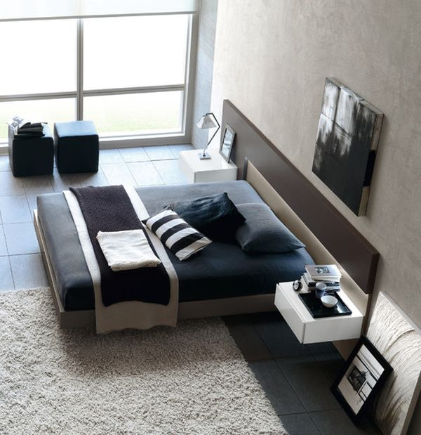 Stylish Floating Bed Design Ideas For The Contemporary Home
