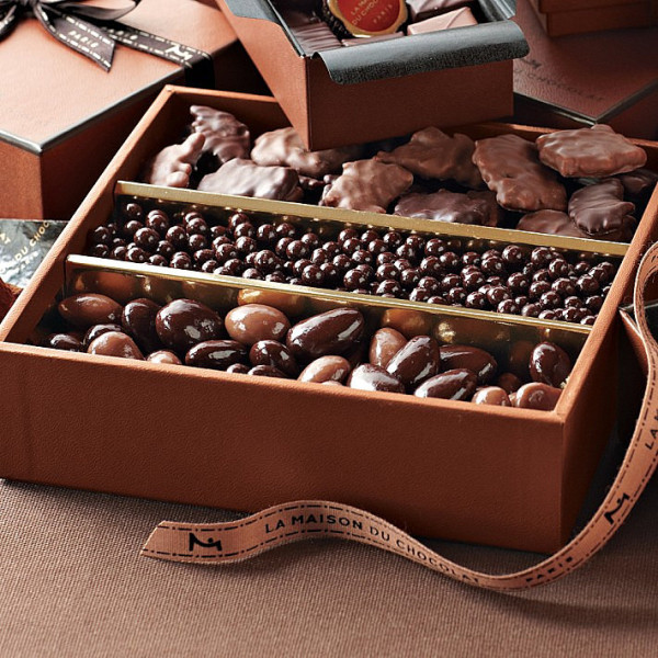 Gourmet chocolate gift set