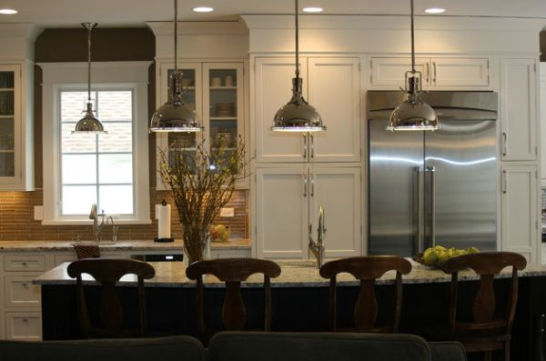 Kitchen : Splendid Gorgeous Kitchen Pendant Lights Over Island ...