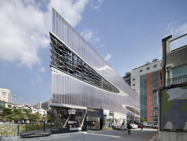 Herma Parking Building - Stunning Design