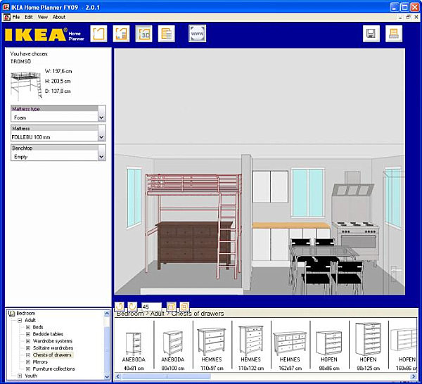 Room planner tools for the modern home for Planner casa online gratis