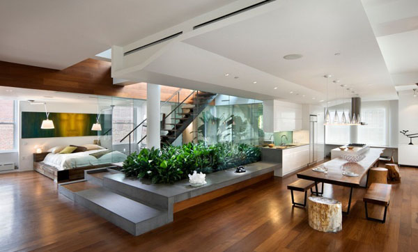 Interior Gardens in modern homes (3)