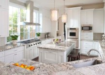 Kitchen-that-blends-ample-natural-ventilation-with-smart-pendant-lighting-217x155