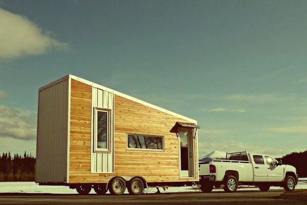 Leaf House on wheels