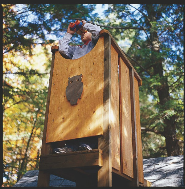 Little Houses Designs: Tree House Plans To Build For Your Kids