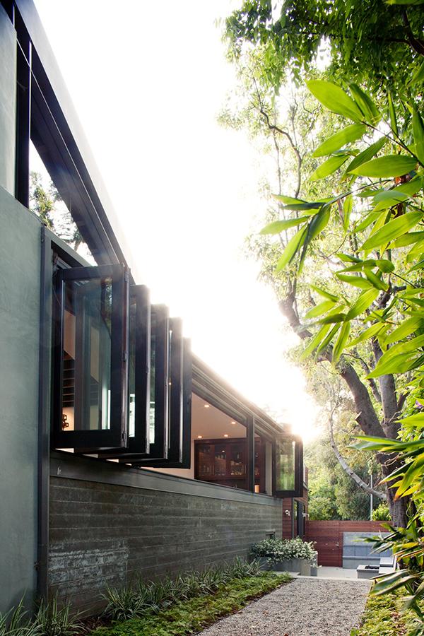 Los Angeles Residence - inner garden