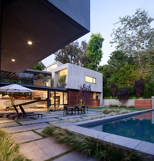 Los Angeles Residence – pool patio