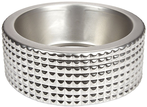 Metal pet dish
