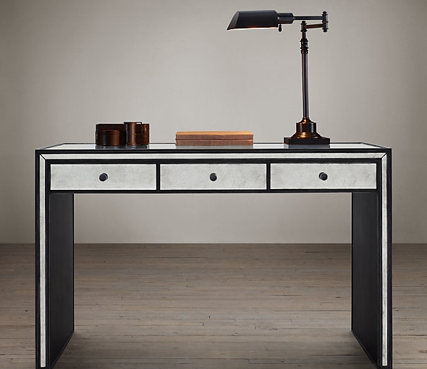 Mirrored Deco desk