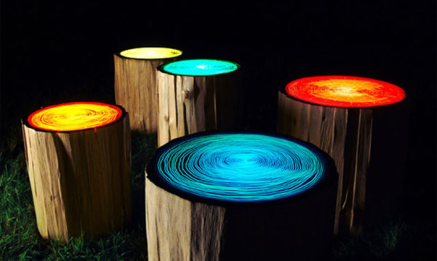 Inspired by Nature: Artistic Functionality of Reclaimed Wood Stumps