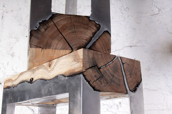 Modern Tree Trunks uses 2 Inspired by Nature: Artistic Functionality of Reclaimed Wood Stumps
