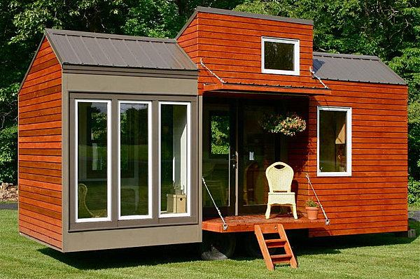 Houses on wheels that will make your jaw drop for Contemporary tiny house