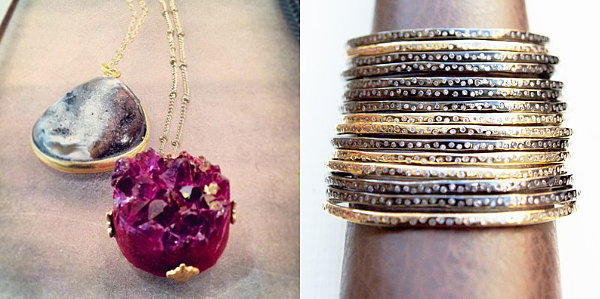 Modern jewelry gift ideas from Eliza Page
