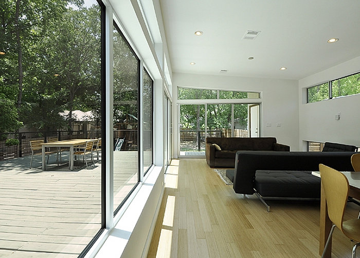 Modular housing spacious interior decoist - Modern design manufactured homes ...