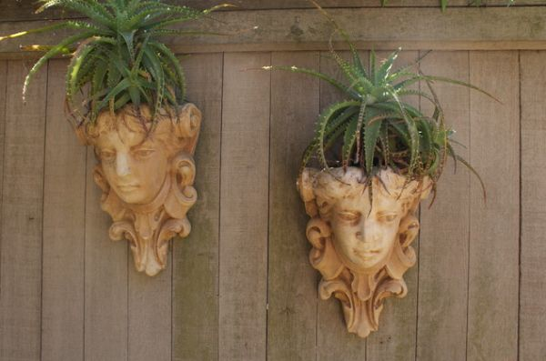 Mounted head planetrs make for beautiful art installations that double up easily