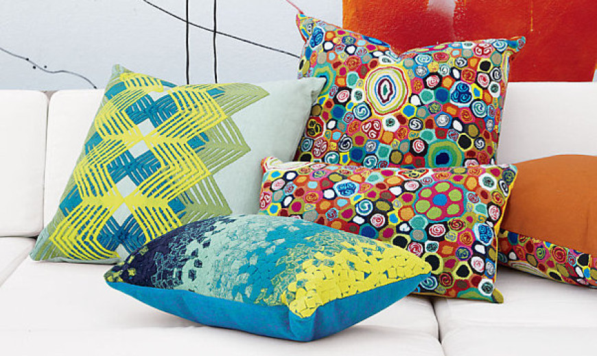 New Throw Pillows for Spring