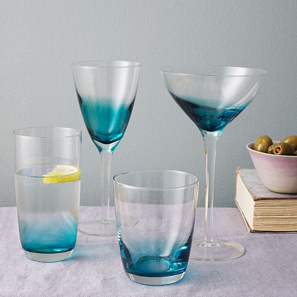 Beautiful View In Gallery Ombre Glassware