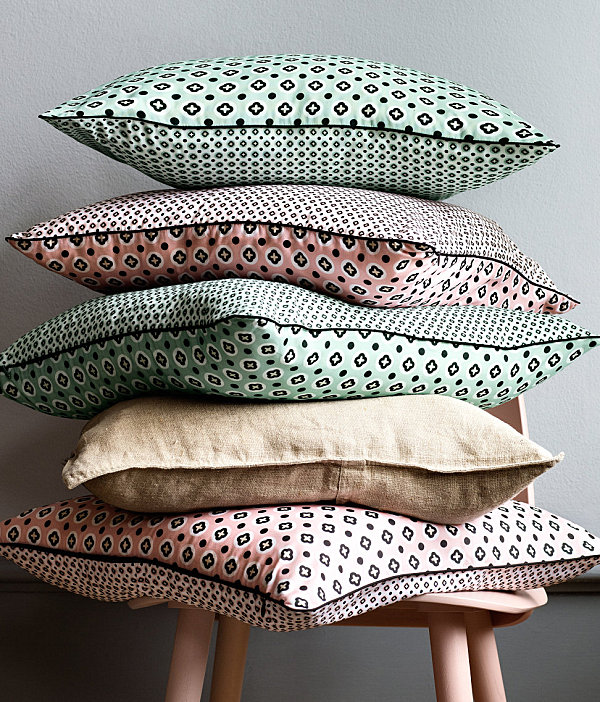 Patterned cushion covers from H & M