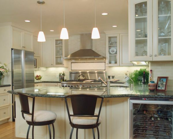 Long Hanging Kitchen Lights