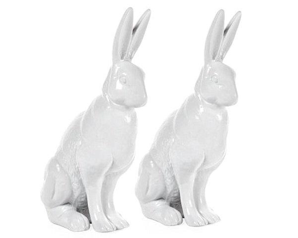 Porcelain rabbits