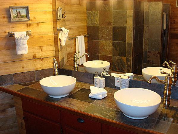 Silo hotel bathroom