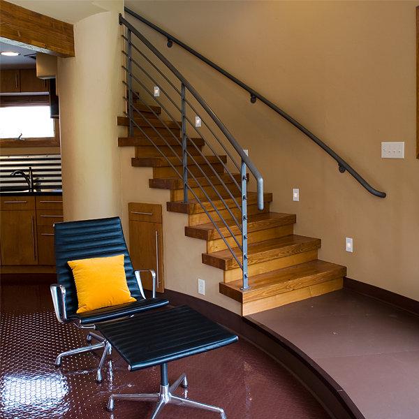 Silo house staircase