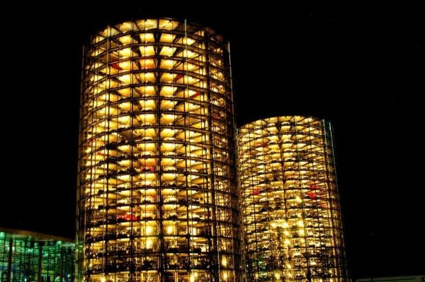 Silos at Autostadt 11 Stunning Parking Garage Designs with a Contemporary Flair