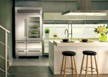 Glass Door Refrigerators: Ideas for a Transparently Brilliant Home