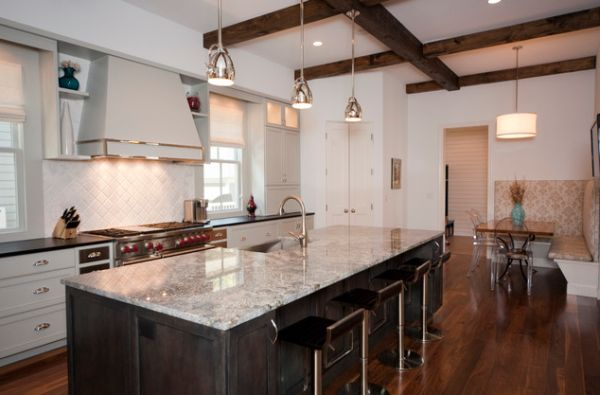 Hanging Pendant Lights Over Kitchen Island 600 x 395