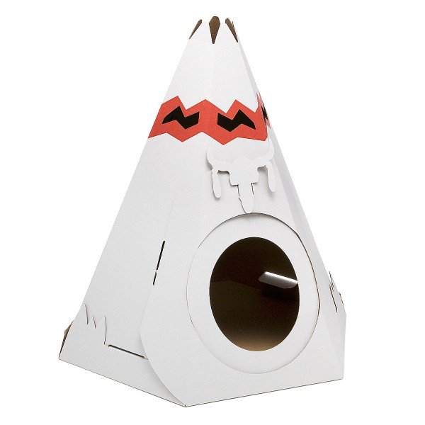 Teepee cat house