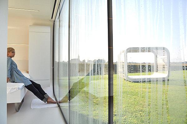 The interior of a Coodo modular home