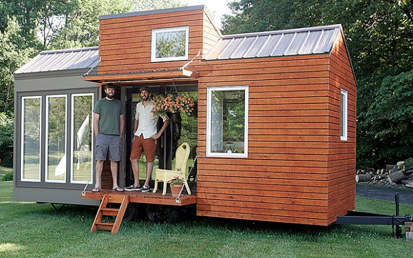 View in gallery Tiny House on wheels